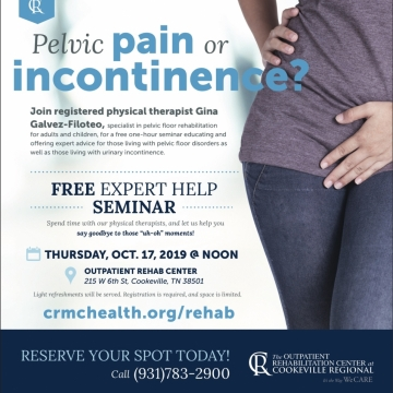 Pelvic Pain & Incontinence